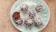 Čokoládovo kokosové pralinky