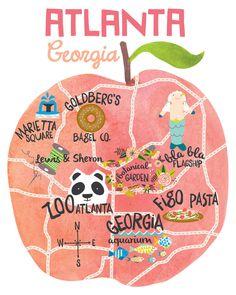 ATLANTA favorite spots in atlanta - I like kid stuff!