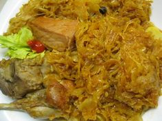 Hozzávalók : fél nyúl, 50 dkg sav. káposzta, 1 fej hagyma, 3 gerezd fokhagyma, 2 evőkanál kókuszolaj, pirospaprika, bors, rózsaszín himalá... Gazpacho, Jambalaya, Nachos, Paella, Pork, Chicken, Kale Stir Fry, Tortilla Chips, Pork Chops