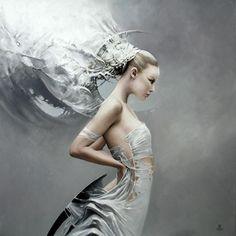 Between Dawn and Dusk Cycle by Artist Karol Bak (9)