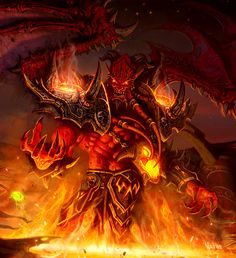 Characters of Wow / Warcraft - Kil'jaeden the Deceiver