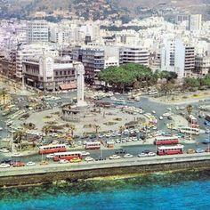 Santa Cruz de Tenerife.Plaza España.años 70