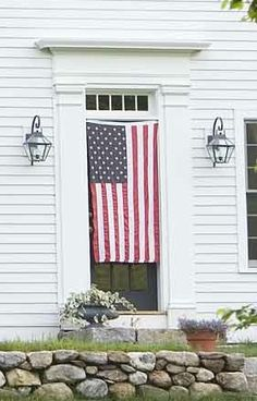 Happy Independence Day from Connor Homes! Happy 4 Of July, Fourth Of July, Connor Homes, Happy Independence, Patriotic Decorations, Farmhouse Chic, New England, Liberty, Freedom