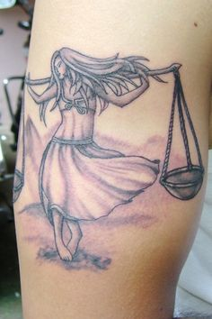 It's all about the balance. Libra Tattoo, Design, Concept and Inked by Sunny at B-Tattoo Shop, Mumbai