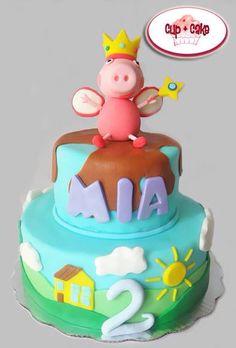 #Cake #PeppaPig #Cartoon #Hada @cupcakegdl