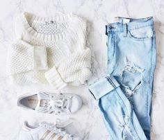 Imagen de fashion, adidas, and jeans - Source by tween outfits for summer Cute Teen Outfits, Cute Comfy Outfits, Teenager Outfits, Teen Fashion Outfits, Outfits For Teens, Look Fashion, Stylish Outfits, Fall Outfits, Summer Outfits