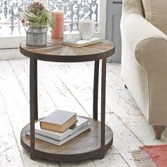 We have a super range of bedside tables. From French style, solid oak, gorgeous painted ones and metal bedside cabinets. Side Table Styling, Side Table Decor, Table Decor Living Room, Side Table Lamps, Round Side Table, Room Decor, Coffee Table For Small Living Room, Painted Side Tables, Wooden Bedside Table