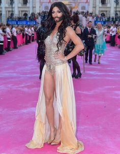 Conchita Wurst for Austria. Love it!