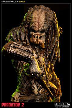 [SIDESHOW] Predator 2: Elder Predator Statue