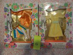 (2) Shillman Flower Fashions NRFB MIB For Barbie Francie Maddie Clone MOD  #ClothingShoes