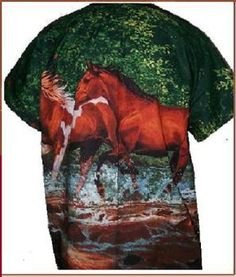 The horse lovers scrub top
