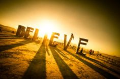 The first step...  just believe.