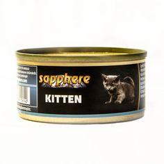 Sapphere Yavru Kedi Konservesi   Yavru kediler için özel formül. Tahılsız yavru kedi konservesi. yavru kedilerin günlük besin ihtiyaçlarının tümünü karşılar.