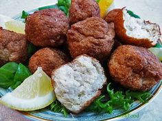 25 minute homemade recipe for Fried Gefilte Fish, a very British Jewish tradition of fried fishballs.