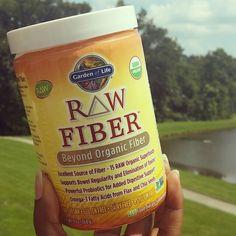 Bought this  Raw Fiber from @gardenofliferaw weeks ago, almost finished container now. Great stuff! #fiber #gardenoflife #organic #nongmo #raw #vegan #glutenfree #dairyfree #psylliumfree #lactosefree