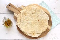 Tortilla wraps van speltbloem - Mind Your Feed