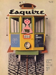 Esquire (the magazine for men) 1950s, I don't know about this magazine but I like the concept