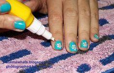 Askmewhats: Nail Art Tutorial: Hawaiian Nails