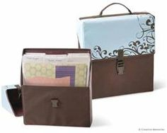Case-Power® Palette Organizer--I just ordered another one--such a great way to organize scrapbooking supplies!
