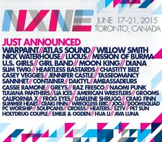 LOVE DARLING is thrilled to be part of NXNE festival which will be featuring many amazing bands and artists such as Warpaint, Atlas Sound, The New Pornographers, Best Coast, Glass Animals, Vince Staples, Blonde Redhead, Willow Smith, Mission of Burma, Nick Waterhouse, Lucius and many others.  Performing with us on the 17th @thepaintedladdy are Big Lonely, Teen Violence, The Show (Official), The Royal Foundry, Art & Woodhouse & Torero.  Doors 7PM Festival wristbands, badges or $10 walk-up