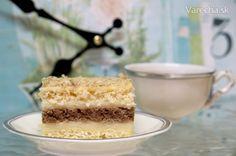 Mäkunké pláty, jemný krém doplnené o chuť orechov . tak to je presne to, čo by… Eastern European Recipes, Bon Appetit, Vanilla Cake, Recipies, Cooking Recipes, Sweater, Recipes, Jumper, Cooker Recipes