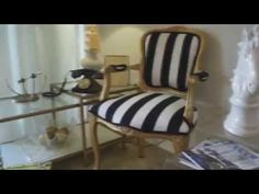 DIY Chair Upholstery - HOW TO UPHOLSTER A CHAIR