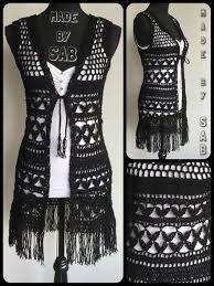 Картинки по запросу fashion long vest crochet