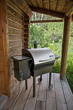 See our low price on Camp Chef SmokePro Stainless DLX Pellet Simplify the process of smoking. With the push of a button, check cooking temperature or internal meat temperature. A grease drain system & removable ash can conveniently collect waste for easy clean up.  Full cooking range from low to high smoke or 160 to over 400 degrees. Discover the real secret of award winning BBQ, low and slow smoking.