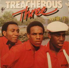 The Treacherous Three - Whip It - LP - 1983