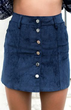 Cable Skirt Navy $55 http://bb.com.au/collections/new/products/cable-skirt-navy#