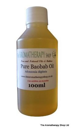 Pure Baobab Oil 100ml / Beneficial For Mature Skin by The Aromatherapy Shop, http://www.amazon.co.uk/dp/B003H80DHM/ref=cm_sw_r_pi_dp_IJywsb0KB0MDT