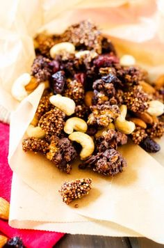 Chocolate Covered Quinoa Trail Mix