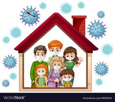 Stay home to prevent coronavirus vector image on VectorStock Kids Learning Apps, Aqua Wallpaper, Illustration Story, Life Poster, Tiffany Art, Embroidery On Clothes, Home Icon, Linocut Prints, Sewing Patterns Free