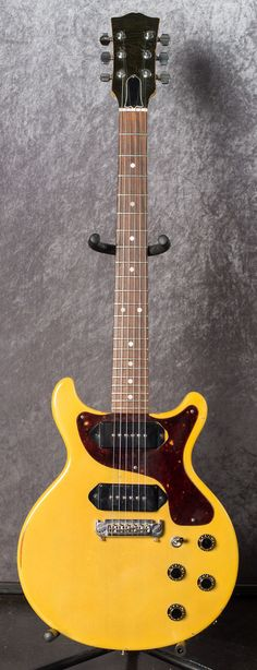 1958 Gibson Les Paul Junior Double Cut Tv Yellow Gt Guitars