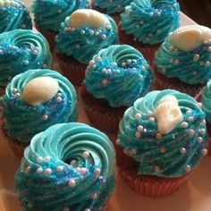 under the sea cupcakes - Google Search