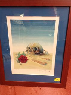 This signed lithograph by Stanley George Miller, better known as Mouse and Stanley Mouse, an American artist, notable for his 1960s psychedelic rock concert poster designs for the Grateful Dead and Journey albums cover art as well as many others.