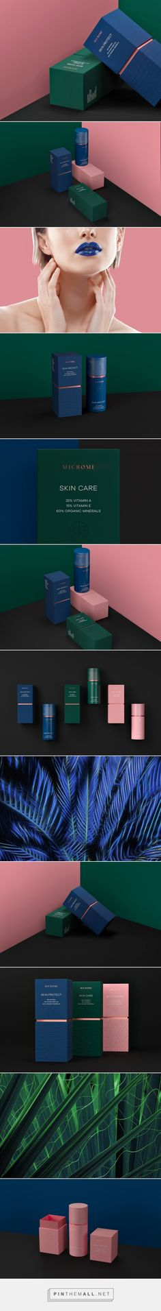 Microme Skincare Packaging by Funky Business | Fivestar Branding Agency – Design and Branding Agency & Curated Inspiration Gallery