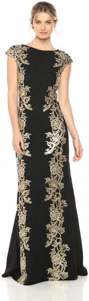 Shop a great selection of Tadashi Shoji Women's Gold Lace Gown. Find new offer and Similar products for Tadashi Shoji Women's Gold Lace Gown. Structured Gown, Formal Dress Shops, Cocktail Gowns, Gowns Online, Ruched Dress, Fit Flare Dress, Women's Fashion Dresses, Ball Gowns, Clothes For Women