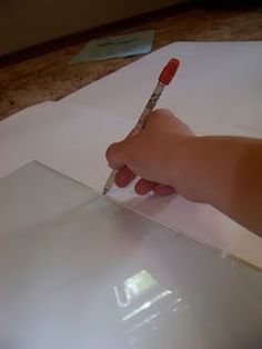 Cheap framing matts from white posterboard - which you can totally get at Dollar Tree