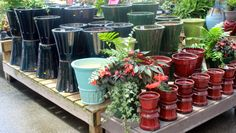 Stroll the pottery paths at The Barn Nursery Pottery Outlet.  Fabulous selection for you and yours! 071513 www.barnnursery.com 1801 East 24th St Pl at exit 181 Chattanooga, TN 37404