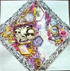 Vendégalkotónk: Kószóné Miskei Andrea Medium Art, Mixed Media Art, Scrapbook Pages, Princess Zelda, Layout, Journal, Fictional Characters, Page Layout, Journal Entries