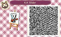 K.K. Slider Pattern - Animal Crossing New Leaf QR Code
