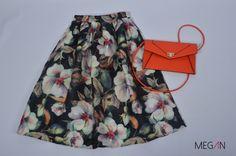 #falda #vintage #faldamidi