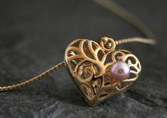 Excited to share the latest addition to my #etsy shop: Women's Gift, Mother Daughter Gift for Mom, Heart Necklace, Gold Heart Pendant, Pink Pearl Necklace, Gift for Women, Gift for Her http://etsy.me/2CMKQut #jewelry #necklace #gold #brass #girls #pearl #pink #lovefrie
