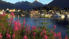 Sitka, Alaska.  A dream destination, one of the most incredible ports anywhere.