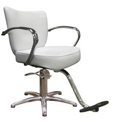 Vantage Styling Chair in Alpine White-5 Star