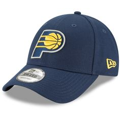 cheap for discount b323d ea7c0 Men s New Era Navy Indiana Pacers Official Team Color Adjustable Hat