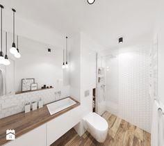 Aranżacje wnętrz - Łazienka: Biała minimalistyczna łazienka - ALE PRACOWNIA. Przeglądaj, dodawaj i zapisuj najlepsze zdjęcia, pomysły i inspiracje designerskie. W bazie mamy już prawie milion fotografii!