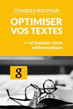Vous cherchez à booster le trafic organique de votre site #web? Voici des conseils SEO efficaces et des astuces de rédaction web pour rédiger un article bien optimisé et améliorer votre #référencement. À la fin de l'article, vous saurez parfaitement bien optimiser un texte pour le référencement par les moteurs de recherche (et pour le plaisir de vos lecteurs...). Cliquez pour lire l'article... #SEO #blog #astucesblogging  #blogging #digitaltwisp Inbound Marketing, Ecommerce Seo, Content Marketing Tools, Online Marketing, Social Media Marketing, Formulaires Web, Web Seo, Le Web, Seo Site