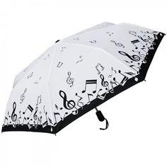 Auto Open/Close Folding Music Umbrella